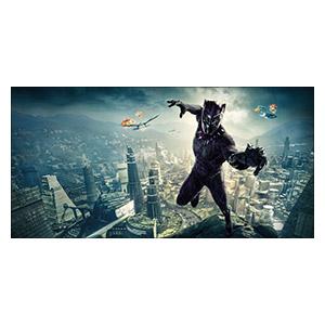 Black Panther. Размер: 120 х 60 см